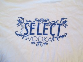 Poland Select Vodka T Shirt Size L - $2.99
