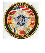 US Secret Service USSS Ferderal Liason Division Agent Service Patch 4.5 in  - $12.99