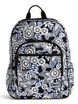 Vera Bradley Signature Cotton Campus Tech Backpack, Snow Lotus