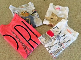 Girl's Crewcuts Collectibles  Lot Of 4 Long Sleeve Tees (8) - $33.66