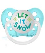 Let It Snow Pacifier - Ulubulu - Unisex - 6-18 months - Christmas Baby B... - $7.99
