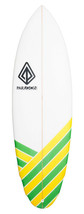 "Paragon Hobgoblin 5'8"" Green-Yellow Surfboard  - $360.00"