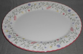 "Johnson Brothers SUMMER CHINTZ PATTERN Oval 13 1/2"" Serving Platter ENGL... - $29.69"