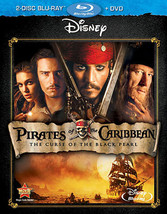 Pirates Of The Caribbean Curse Of The Black Pearl (Blu-ray/DVD/2 Disc Combo)