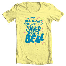 Saved by the Bell T-shirt retro 80s TV show 100% cotton yellow tee NBC780 image 2