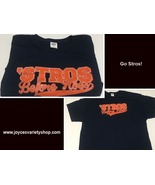 Houston Astros Baseball STROS B4 HOES Men's 3XL T-Shirt - $9.99