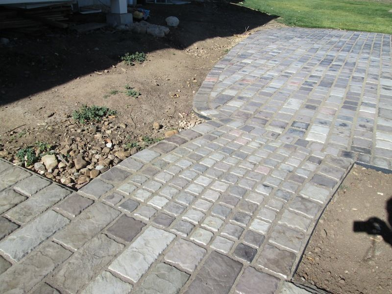 "Concrete Paver Molds (10) Make 6""x12""x1.5"" Cobblestones, Pavers For Pennies Each"