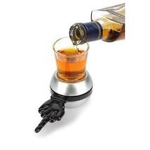 Spin The Shot Middle Finger Drinking Game Black - $16.98
