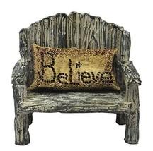 Miniature Fairy Garden - Bench w/ Believe Pillow 2-piece set - €17,31 EUR