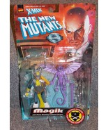 Vintage 1998 Marvel X Men New Mutants Magik Figure with Dragon New In Pa... - $49.99