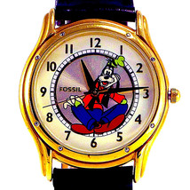 Goofy Disney, Official Gold Edition Fossil Rare Collectable Watch #XXX/1... - $177.06