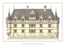 Chateau d'Azay-le-Rideau-Poster - $42.08