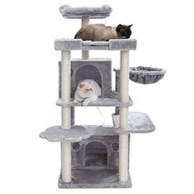 Hey-bro Multi-Level Cat Tree Condo Furniture with Sisal-Covered Scratchi... - £82.01 GBP