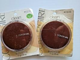 2 x CoverGirl Clean Normal Skin #145 Warm Beige Pressed Face Powder 2 pc - $12.50