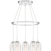 Realm 5-Light Chandelier in Polished Chrome - $489.99