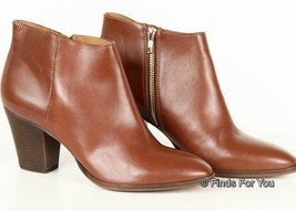 J Crew Women's Laine Boots Ankle Boots Booties Chester Brown 10.5 A9824 - $79.48