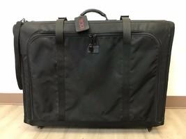 TUMI Suitcase Black Ballistic Nylon Wheeled Rolling Pull Handle Collapsi... - $120.00