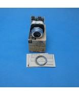 Allen Bradley 800T-H6B /N Selector Switch Coin 30.5 MM 2 Position Mainta... - $44.99