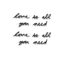 Umbra Mantra Wall Decor Phrase, Love Is All You Need - $29.99