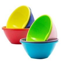 Youngever 32 Ounce Plastic Bowls, Large Cereal Soup Bowls,... - $40.04