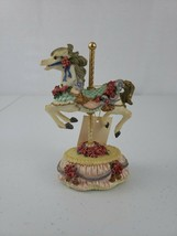 """Heritage House Plays Music """"Yesterday"""" Carousel Horse Country Fair Collection - $35.00"""