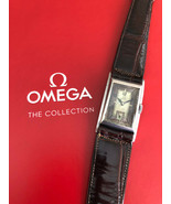 Very Rare OMEGA T17 Art Deco Diver Asimetric All Steel Vintage Swiss Watch - $1,818.75