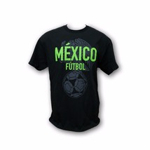 Fifth Sun Mexico Black Color Men's Short Sleeve T-Shirt - £9.08 GBP