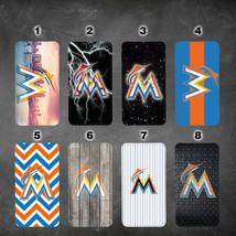 Miami Marlins LG V30 V35 wallet case G6 G7 Google pixel XL 2 2XL cover - $17.99
