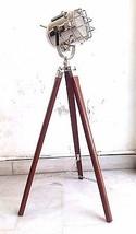 Nautical Handmade Floor Lamp Designer Shoot Light Lamp With Tripod Decor... - $73.49