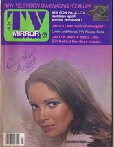 ORIGINAL Vintage May 1977 TV Mirror Magazine Jaclyn Smith Charlie's Angels - $18.51