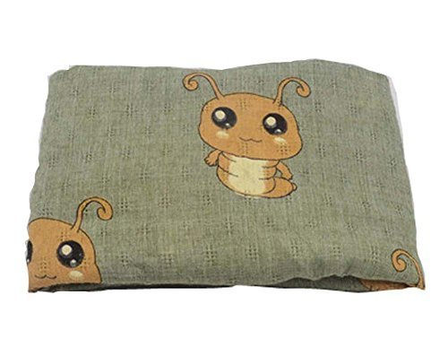 Winter New Girls Scarf Fashion Scarf, Mustard green smilworm