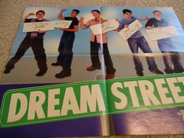 Britney Spears Dream Street teen magazine poster clipping Jesse Mccartney Bop
