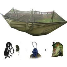1-2 Person Portable Outdoor Hammock with Mosquito Net - $27.99+