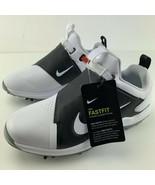 Nike Tour Premiere Golf Shoes Wide White Black Soft Tip FastFit Dynamic ... - $199.95