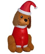 Home Accents Holiday Inflatable Cocker Spaniel with Santa Hat, 6-Feet He... - $49.95