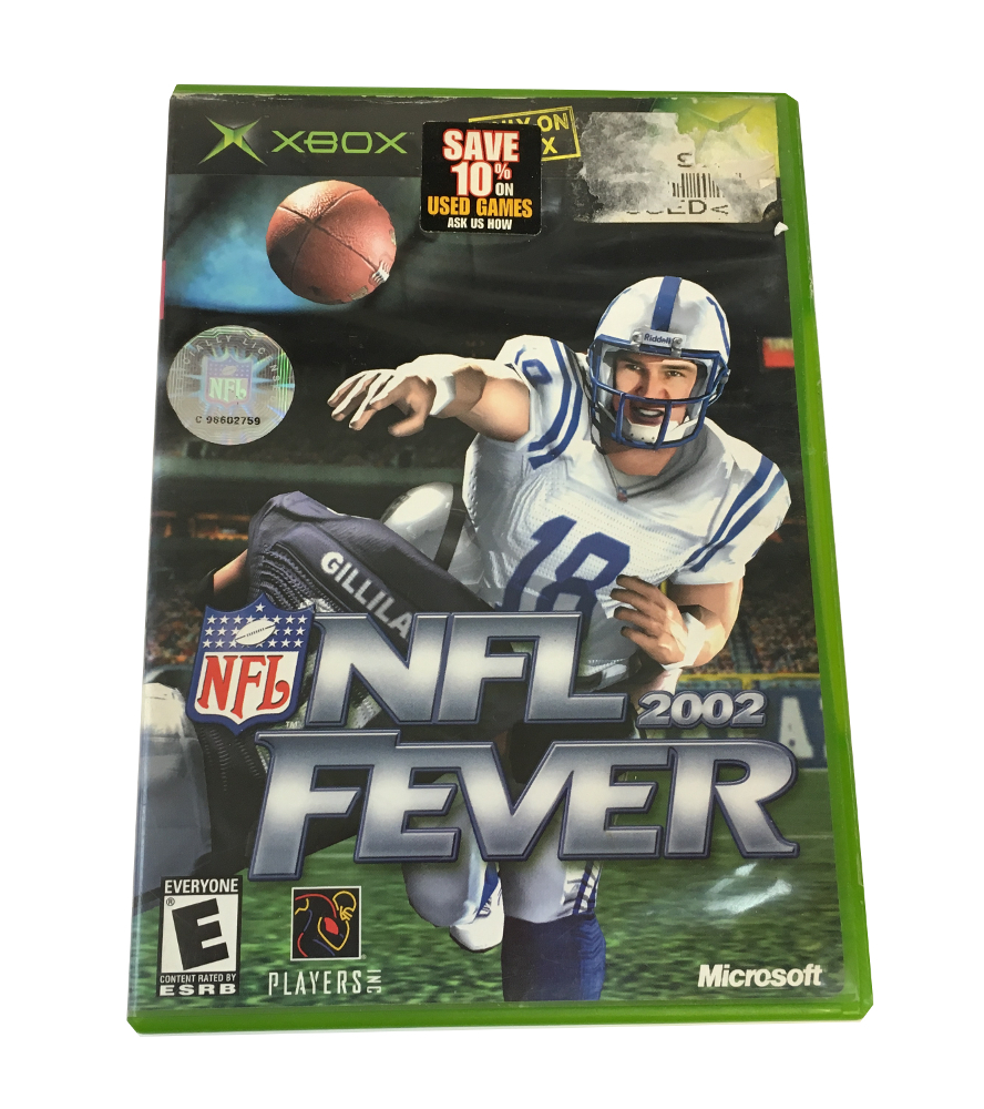 Microsoft Game Nfl 2002 fever