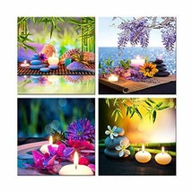 Hello Artwork Canvas Prints Zen Art Wall Decor Spa Massage Treatment Pai... - $40.18