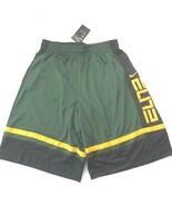 Nike Men ELITE Basketball Shorts - CV4888 - Forest Green 375 - Size M - NWT - $29.95