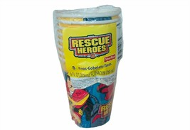 Birthday Cups Hallmark Rescue Heroes Fisher Price party express SEALED Mattel - $13.50