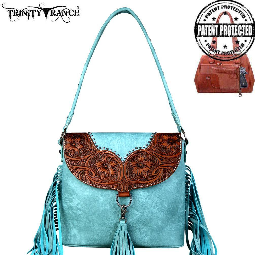 871f3637a37e Trinity Ranch Tooled Floral Flap Concealed and 50 similar items