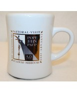 Pope John Paul Pastoral Visit  Archdiocese St Louis MO 1999 Coffee Tea C... - $74.95