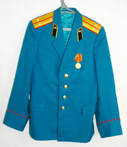 Uniform Parade Jacket Original Soviet Russian Army Military Lieutenant T... - $17.82