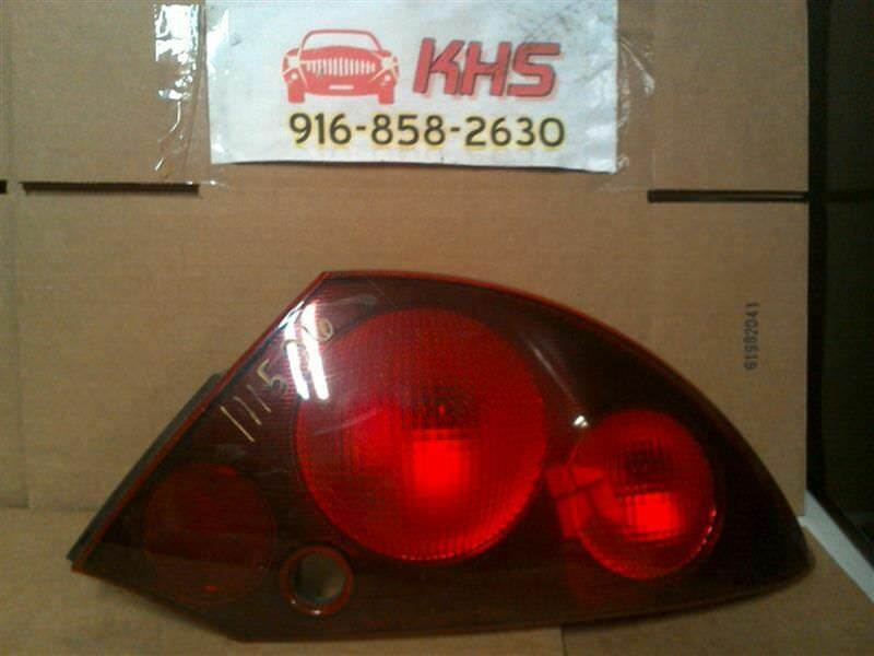 Primary image for Passenger Right Tail Light Thru 9/30/00 Fits 00-01 ECLIPSE 259056