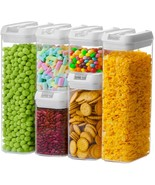 Numyton Airtight Food Storage Container Set of 6 with Lids made by Durab... - $38.99