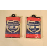 """Two Attwood Pink Diamond Braided 1/8"""" x 45' Utility Line  - $9.48"""