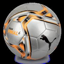 Puma teamFinal 21.6 MS Ball Soccer Football Silver 08331109 Size 5 - $54.99