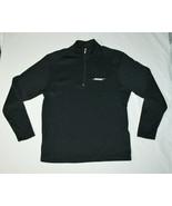 Bose Nike Golf 1/4 Zip Black Long Sleeve Track Jacket Shirt Men M Employ... - $39.48