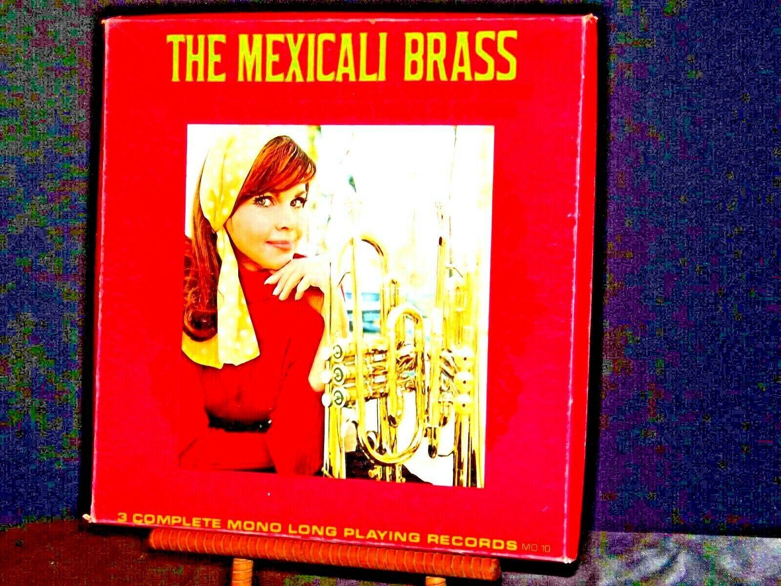 ARA The Mexicali Brass. Three complete mono long-playing record AA19-1501 Antiq