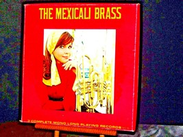 ARA The Mexicali Brass. Three complete mono long-playing record AA19-1501 Antiq image 1