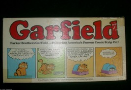 Vintage Garfield 1981 Board Game Parker Brothers Jim Davis Old Orange Cat - $14.03